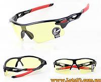 Очки Антифары для водителей противоударные, солнцезащитные (желтые, ночные + дневные)