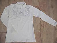 Школьная блуза для девочки 6-13 лет