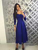 Вечерне платье миди 8815