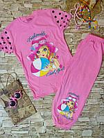 Туника с бриджами на девочку 7-10  лет. Турция