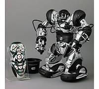 Интерактивный робот, гуманоид на управлении 37 см, хромированный Robot Robosapien, WowWee, оригинал из США