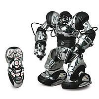 Интерактивный робот на управлении 37 см, хромированный Robot Robosapien, WowWee из США