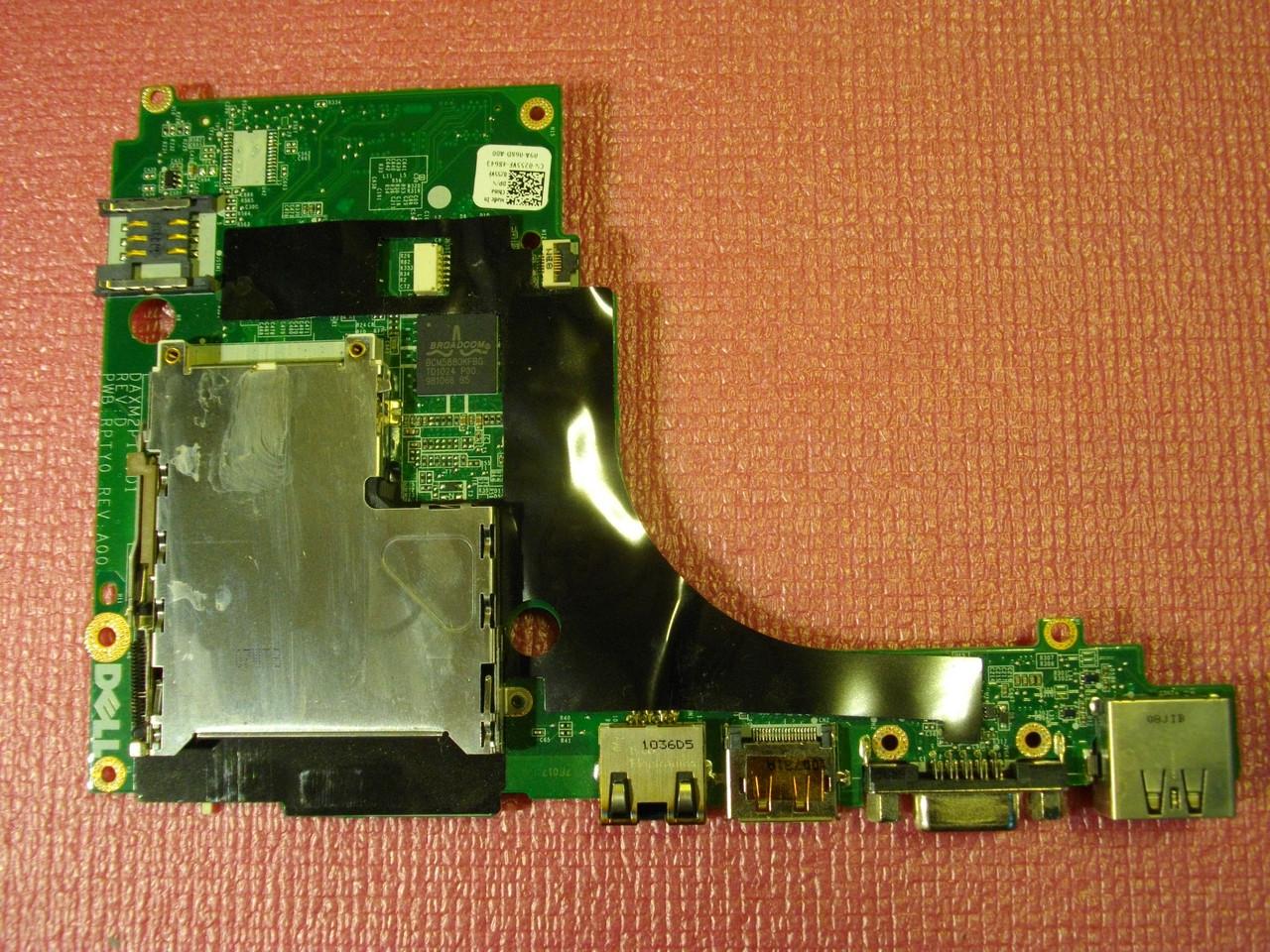 Плата 0255VF с слотом expresscard и рзъемами displayport, VGA, Сеть, usb DELL Precision M6500 (PP08X)