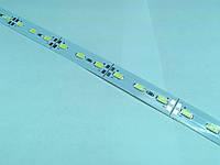 Светодиодная линейка на алюминиевой подложке L5630W72-15W, белый, 72 LED, 990 мм.