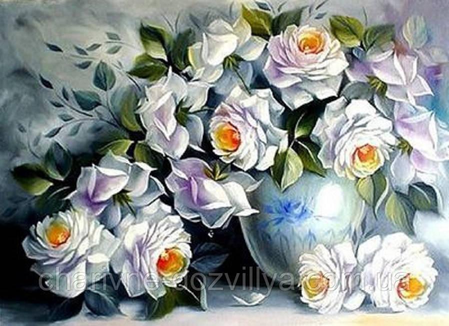 Купить набор алмазной вышивки цветы