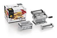 Набор лапшерезка - тестораскатка - пельменница Pasta Set Marcato