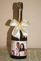 Этикетка на шампанское