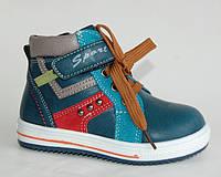 Y.TOP арт.123-7 синий     Демисезонные ботинки для мальчиков.