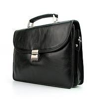 Портфель кожаный мужской классический Bond 1201-1