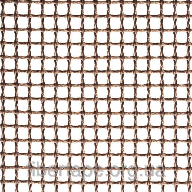 Тефлоновая стекловолоконная сетка, ячейка 4х4 мм, ширина рулона 3200 мм
