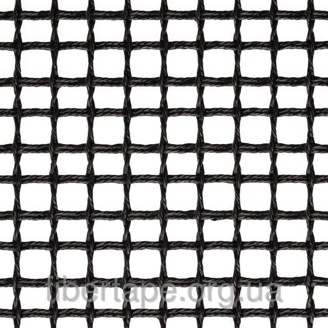 Тефлоновая стекловолоконная сетка с антистатиком, ячейка 6х6 мм, ширина рулона 2500 мм