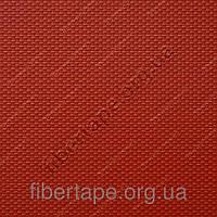 Силиконовая армированная термошторка 280 мкм, цвет красный