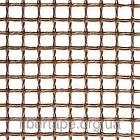 Тефлоновая стекловолоконная сетка, ячейка 6х6 мм, ширина рулона 2500 мм