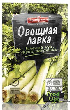 """Приправка """"Овочева Лавка"""" Суміш зелені, Цибуля, Кріп та Петрушка 20 г"""