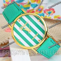 Женские часы Geneva Platinum мятного цвета, фото 2