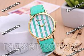 Женские часы Geneva Platinum мятного цвета, фото 3