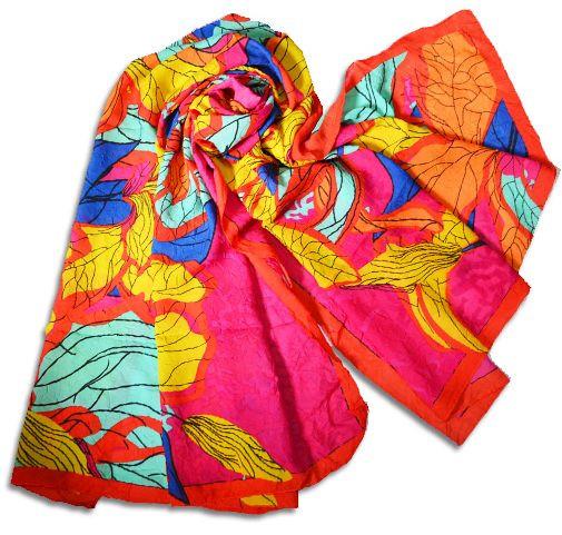 Женский шарф-парео 140 на 120 dress #41_5 красный
