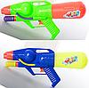 Водяной автомат M 2807 (72шт) помпа, размер средний, 29см, 2 цвета, в кульке, 14-29-5см