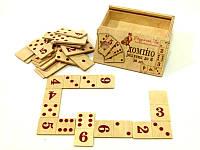 Деревянная игрушка Домино Счет до 6-ти, фото 1