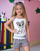 Комплект майка+шорты для девочки 2-8 лет, Berrak