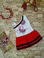 Платье на девочку 1-2-3 года. Трикотаж. Турция