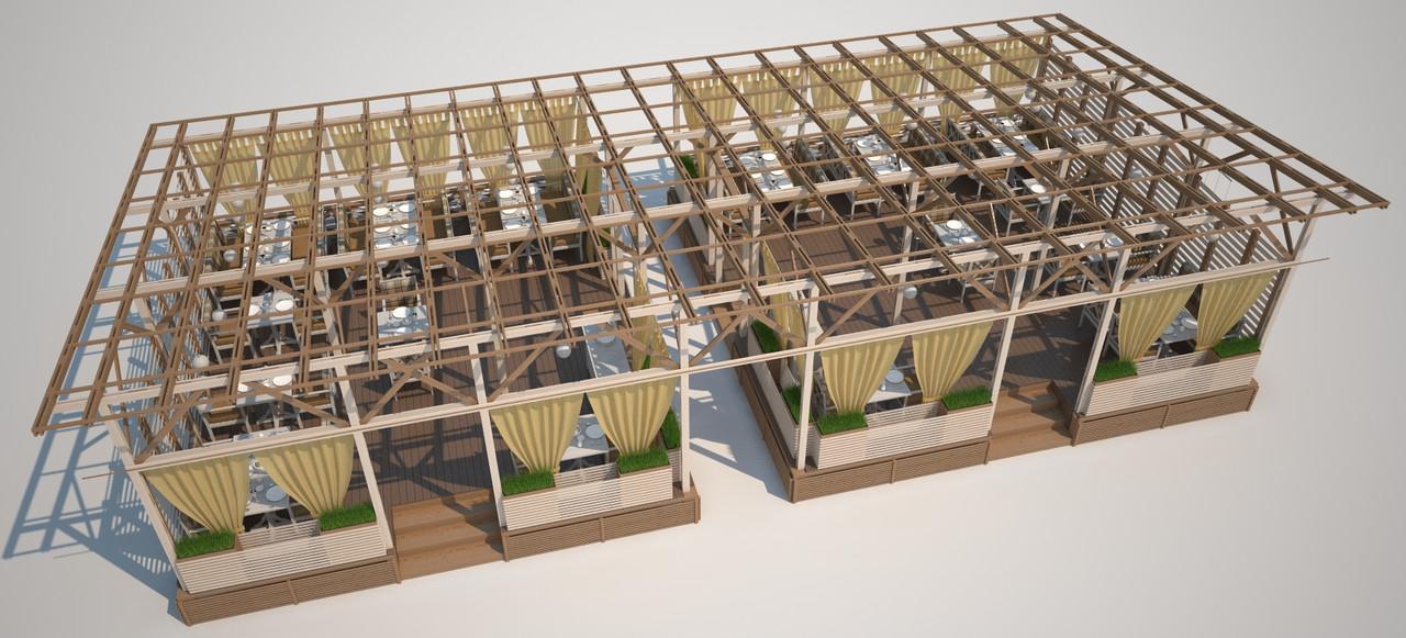 Изготовление металоконструкций - проектируем и производим деревянные и металические конструкции. - Wood Luxury в Киеве
