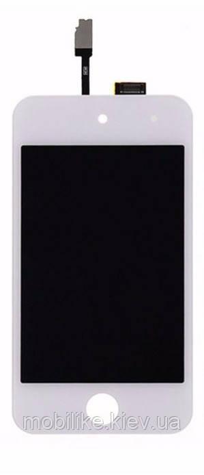 Дисплей з сенсорним екраном, iPod 4 білий