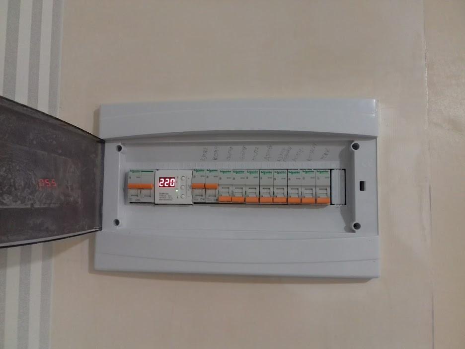 Установка  ( замена ) автоматов