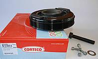 Шків колінвала (комплект) VW Transporter T4 2.4D / 2.5 / 2.5TDI 90-03 80004398 CORTECO (Італія)