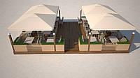 Проектирование кафе- проектируем и производим деревянные и металические конструкции.