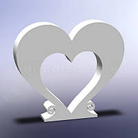 Сердце из пенопласта H06