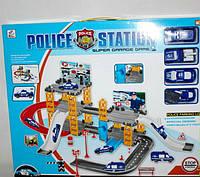 Парковка с полицейскими машинами (A82678/89008)
