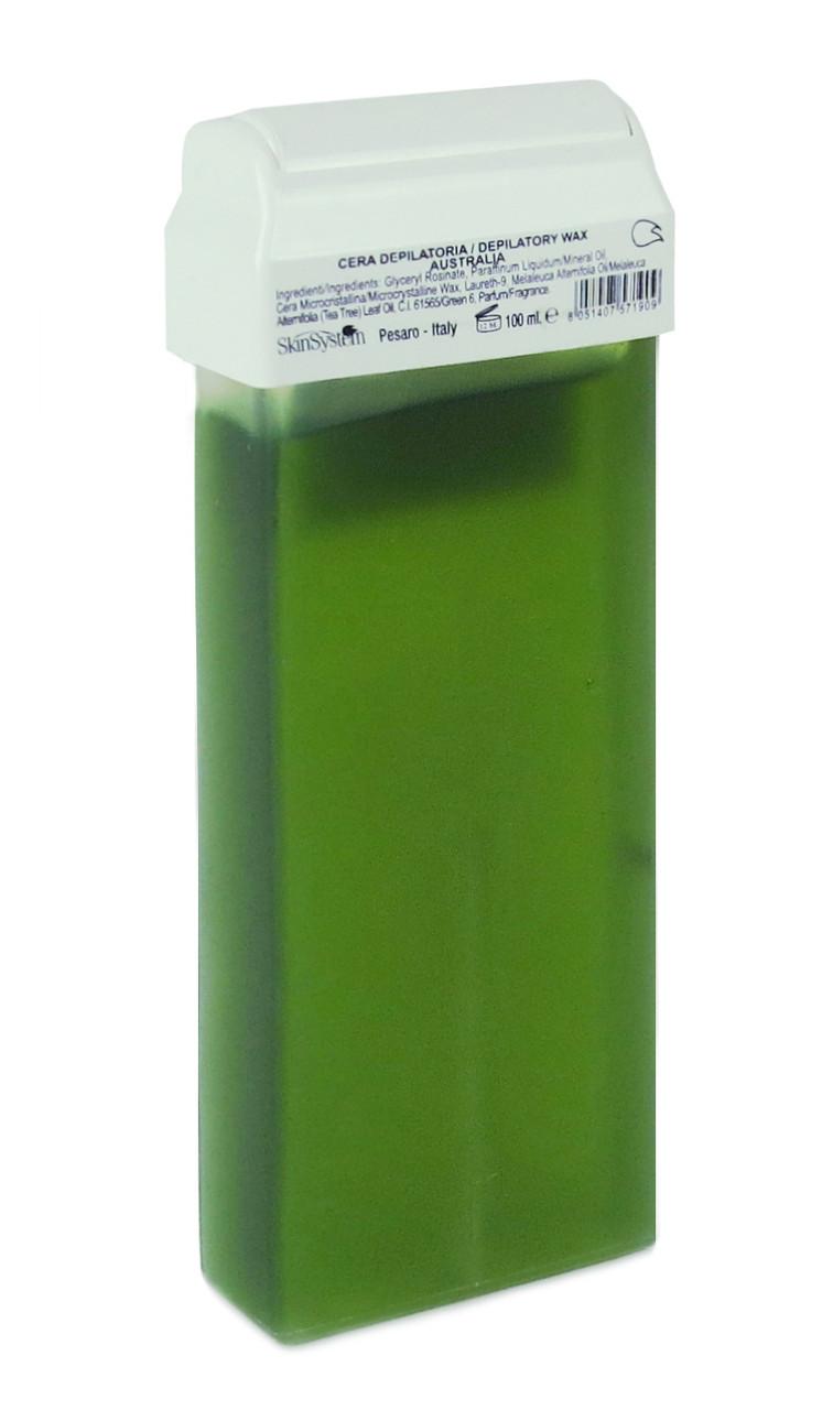 Воск в кассетах зеленый Австралийский 100г, Delica