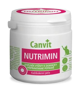 Корм витаминно-минеральная добавка Canvit Nutrimin для кошек, 150 гр
