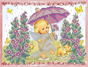 Схема для вышивки бисером Весенний дождик.