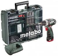 Аккумуляторная дрель-шуруповерт Metabo PowerMaxx BS Mobile Workshop