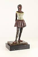 Бронзовая фигура девочка танцовщица