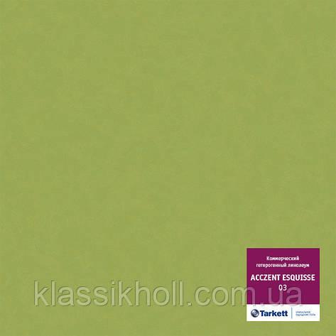 Линолеум коммерческий Tarkett ACCZENT ESQUISSE 03 (коммерческий гетерогенный) КМ2, фото 2