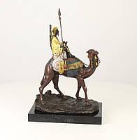 Бронзовая фигура Верблюд и наездник