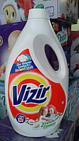 Гель для стирки Vizir 3 в 1. Для цветной и белой ткани.