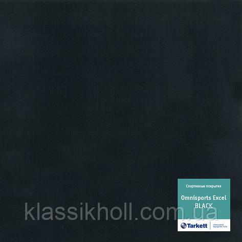 Спортивний лінолеум Tarkett OMNISPORTS EXCEL - BLACK, фото 2