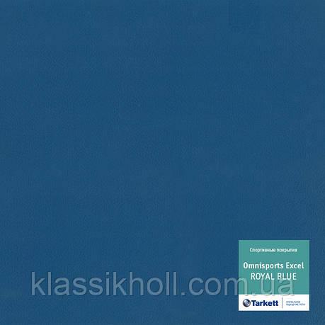 Линолеум спортивный Tarkett OMNISPORTS EXCEL - ROYAL BLUE, фото 2