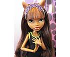 Кукла Клодин Вульф Пижамная вечеринка Monster High Dead Tired Clawdeen Wolf Doll, фото 3