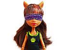 Кукла Клодин Вульф Пижамная вечеринка Monster High Dead Tired Clawdeen Wolf Doll, фото 5
