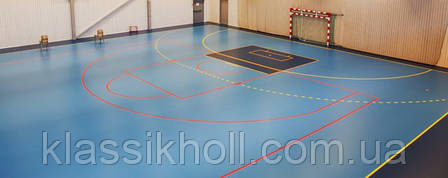 Линолеум спортивный Tarkett OMNISPORTS REFERENCE - YELLOW, фото 2