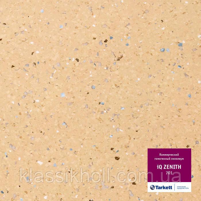Линолеум коммерческий гомогенный Tarkett TARKETT IQ ZENITH - 701
