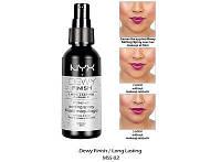 Спрей для фиксации макияжа NYX Dewy Finish Setting Spray