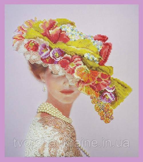 Набор для вышивания бисером Викторианская дама