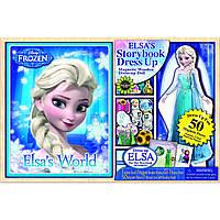 Одень Эльзу Frozen - магнитная одевалка, Bendon
