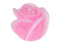 Свеча декоративная Роза Розовая фигурная 11Х9 см Candy Light 029-025